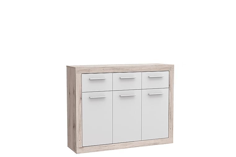 Mohaned Skjenk 34x118 cm - Brun / Hvit - Møbler - Oppbevaring - Sideboard & skjenk