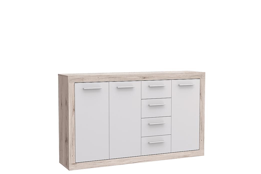 Mohaned Skjenk 34x153 cm - Brun / Hvit - Møbler - Oppbevaring - Sideboard & skjenk