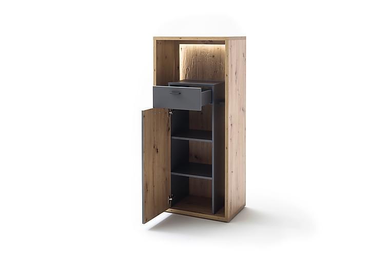 Nacimento Sideboard 40x66 cm - Grå/Natur - Møbler - Oppbevaring - Sideboard & skjenk