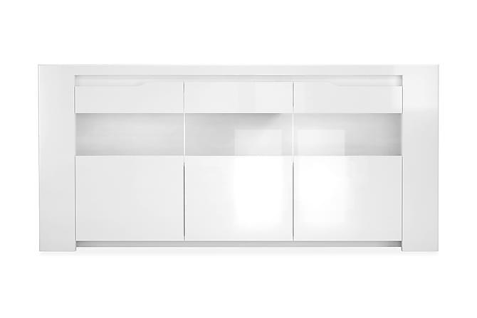 Olavia Skjenk 180 cm - Hvit - Møbler - Oppbevaring - Sideboard & skjenk
