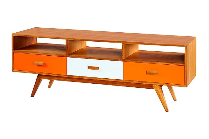 Groovy Passion For Retro Sideboard 165 cm - Oransje/Hvit | Trademax.no SN-62