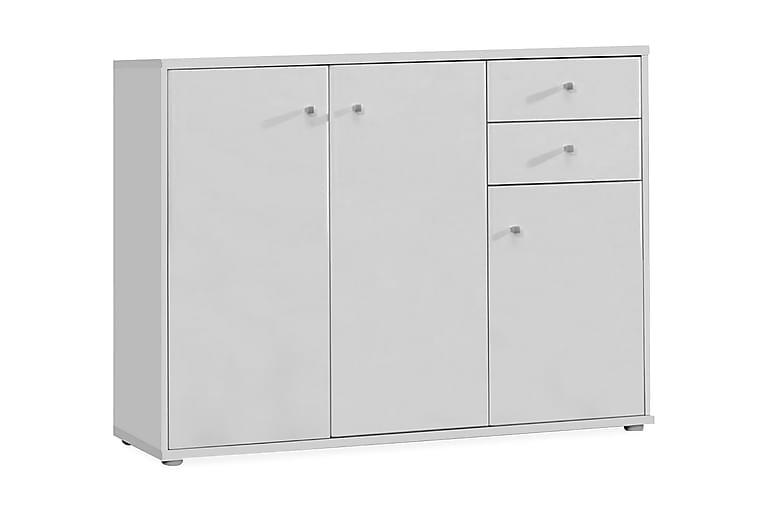 Sherriff Skjenk 106x85 cm - Hvit - Møbler - Oppbevaring - Sideboard & skjenk