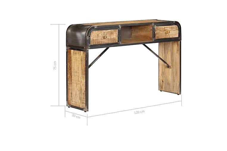 Sidebord 120x30x75 cm heltre mango - Møbler - Oppbevaring - Sideboard & skjenk
