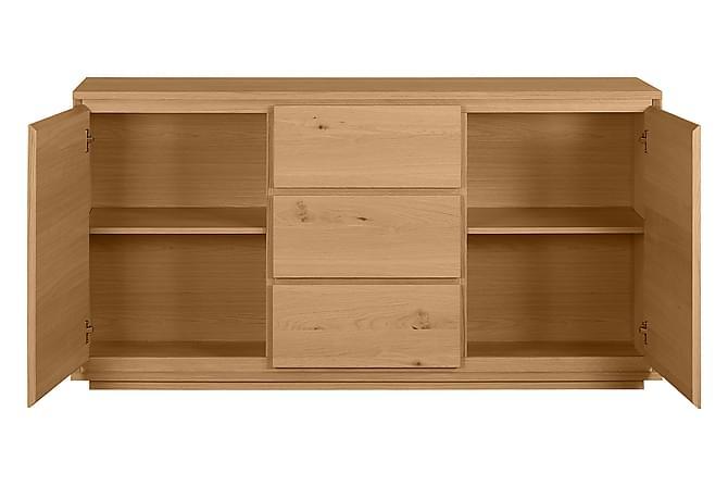 Sivia Skjenk 164 cm - Hvit - Møbler - Oppbevaring - Sideboard & skjenk