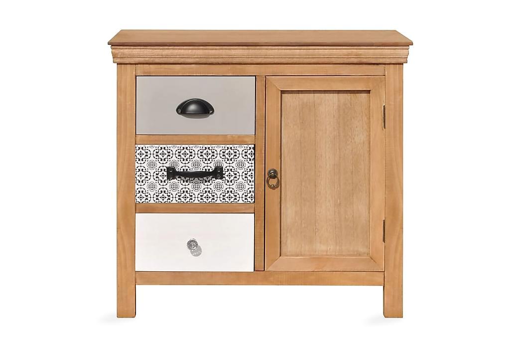 Skjenk 65x35x60 cm heltre eukalyptus - Møbler - Oppbevaring - Sideboard & skjenk