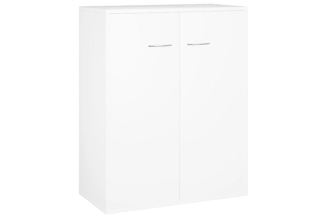 Skjenk hvit 60x30x75 cm sponplate - Møbler - Oppbevaring - Sideboard & skjenk
