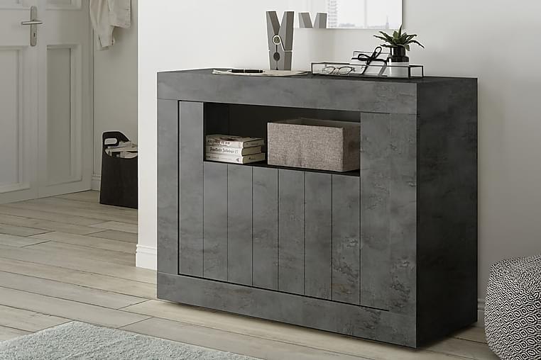 Urbino Piccolo Skjenk 110 cm - Mørkgrå Betong - Møbler - Oppbevaring - Sideboard & skjenk