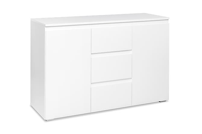 Vargemo Skap 120 cm - Hvit - Møbler - Oppbevaring - Sideboard & skjenk