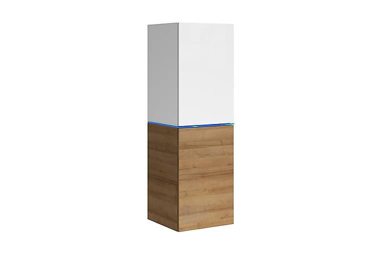 Domino Vitrineskap 35x33x109 cm - Møbler - Oppbevaring - Vitrineskap