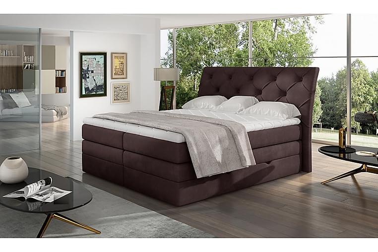 Bellamir Sengepakke 140x200 cm - Brun - Møbler - Senger - Komplett sengepakke