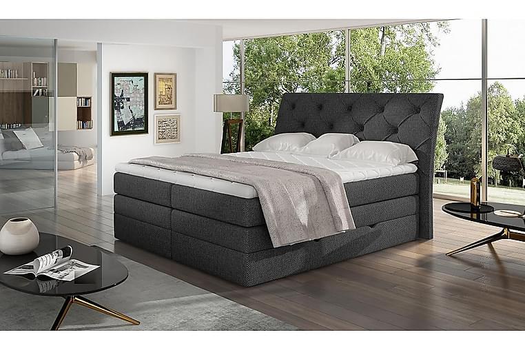 Bellamir Sengepakke 180x200 cm - Grå - Møbler - Senger - Komplett sengepakke