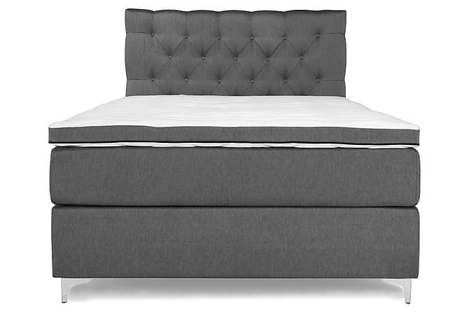 Elite Comfort Komplett Sengepakke Kontinentalseng 140x200 - Grå - Møbler - Senger - Komplett sengepakke