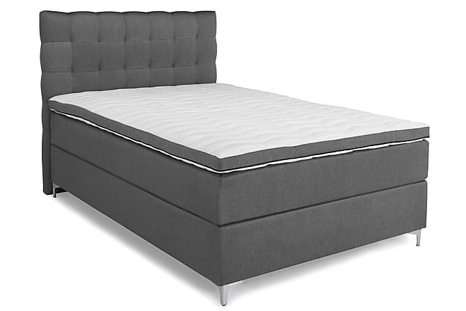 Elite Premium Komplett Sengepakke Kontinentalseng 140x200 - Grå - Møbler - Senger - Komplett sengepakke