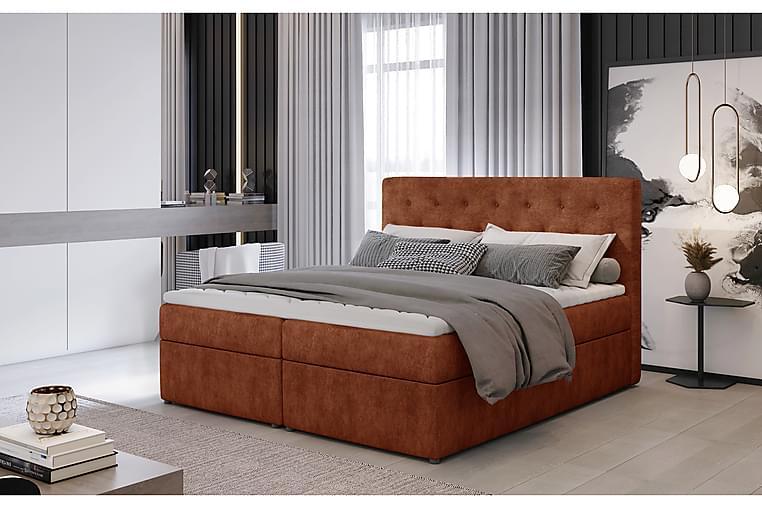 Eloree Sengepakke 140x200 cm - Rød - Møbler - Senger - Komplett sengepakke