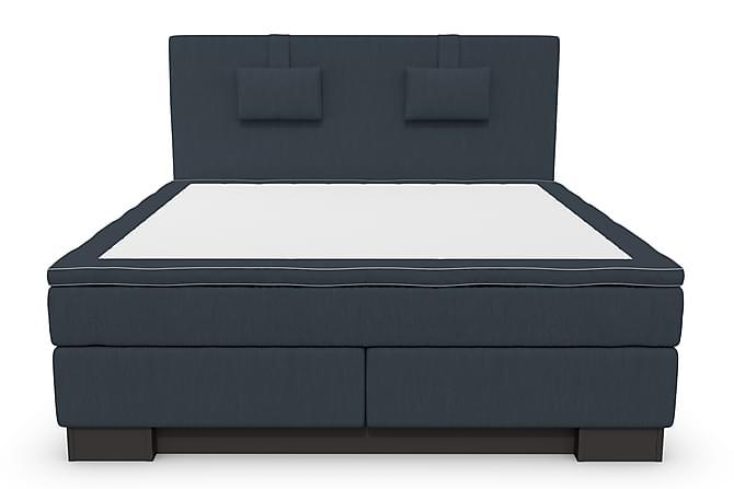 Hilton Lyx Komplett Sengepakke 180 - Mørkeblå - Møbler - Senger - Komplett sengepakke