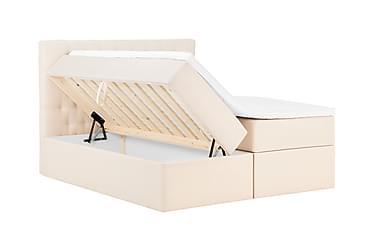 BOXBED Oppbevaringsseng 160 Beige