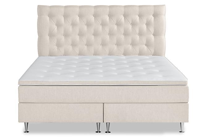 Comfort Plus Komplett Sengepakke 180x200 - Beige - Møbler - Senger - Kontinentalsenger