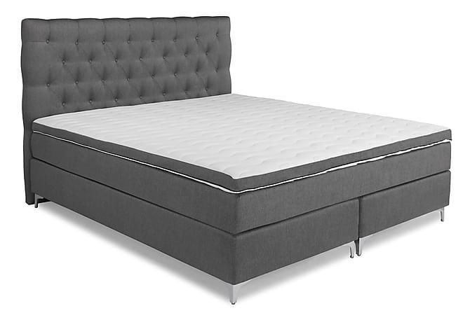 Elite Lyx Komplett Sengepakke Kontinentalseng 180x200 - Grå - Møbler - Senger - Komplett sengepakke
