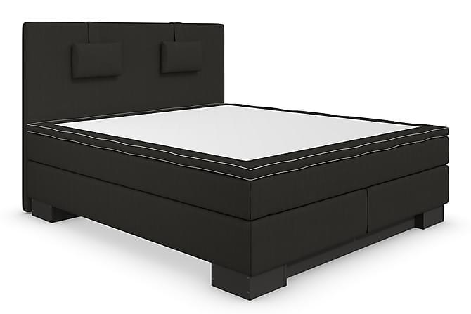 Hilton Lyx Komplett Sengepakke 180x210 - Svart - Møbler - Senger - Komplett sengepakke