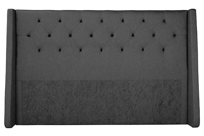 Imperia Komplett Sengepakke 210x210 cm - Grå - Møbler - Senger - Komplett sengepakke