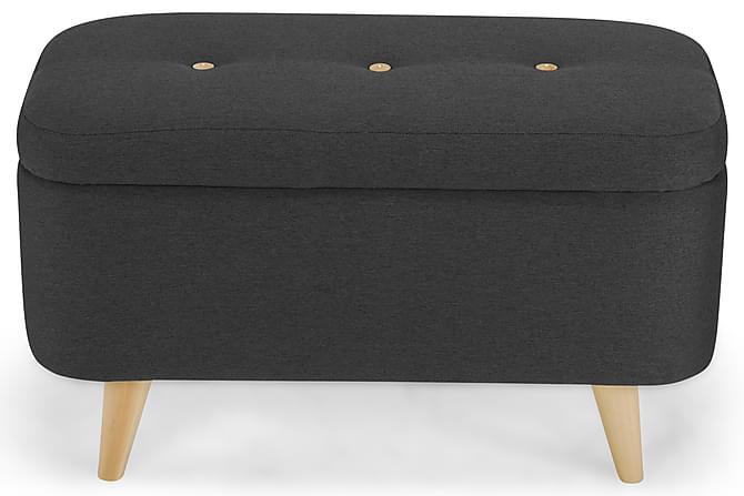 Fantasy Sengekiste 80x40 cm - Mørkegrå - Møbler - Senger - Oppbevaring til senger