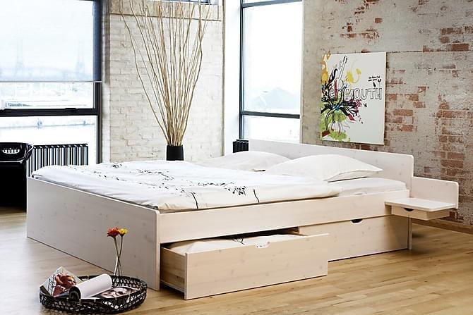 Sorne Sengeramme 180x210 cm - Hvit - Møbler - Senger - Sengeramme & sengestamme