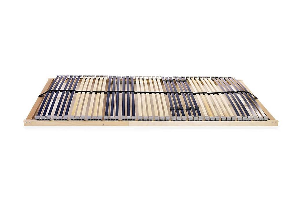 Spilebase med 42 lameller 7 soner 120x200 cm - Møbler - Senger - Ribbebunn