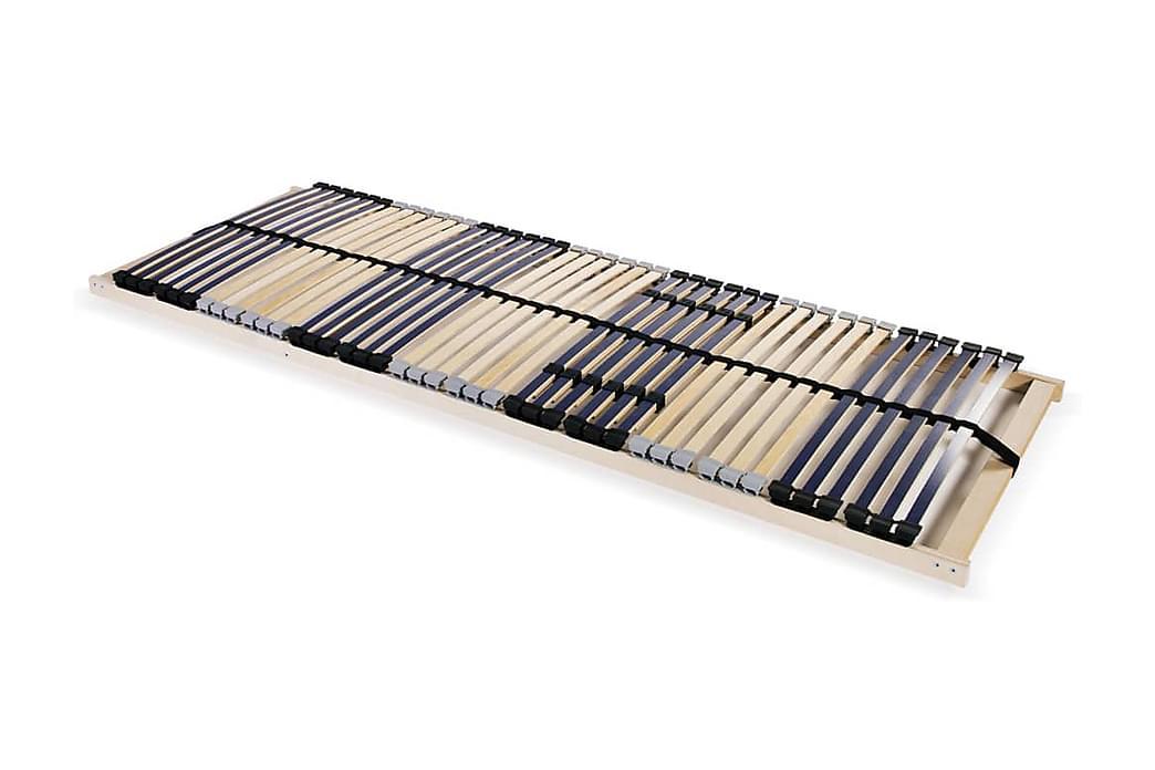 Spilebase med 42 lameller 7 soner 90x200 cm - Tre - Møbler - Senger - Ribbebunn