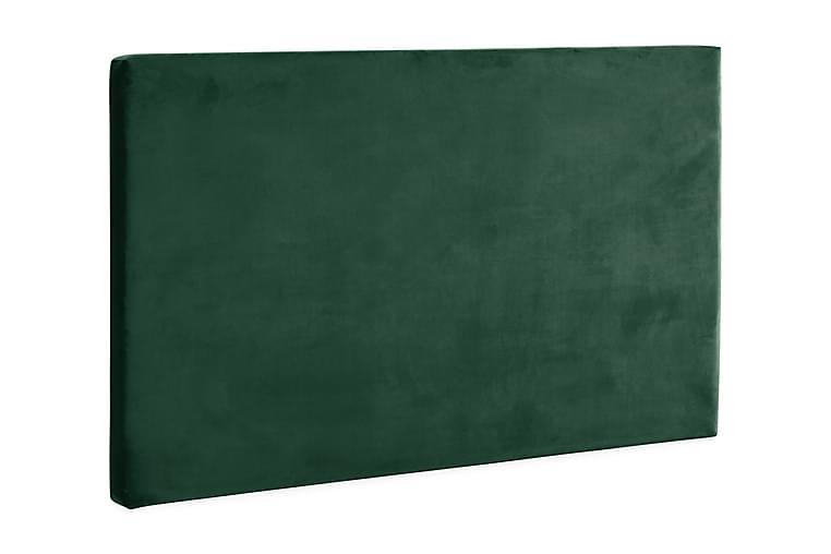 KinnaBädden SAFIR Fløyelsgrønn 108x180 Sengegavl - Møbler - Senger - Sengegavl