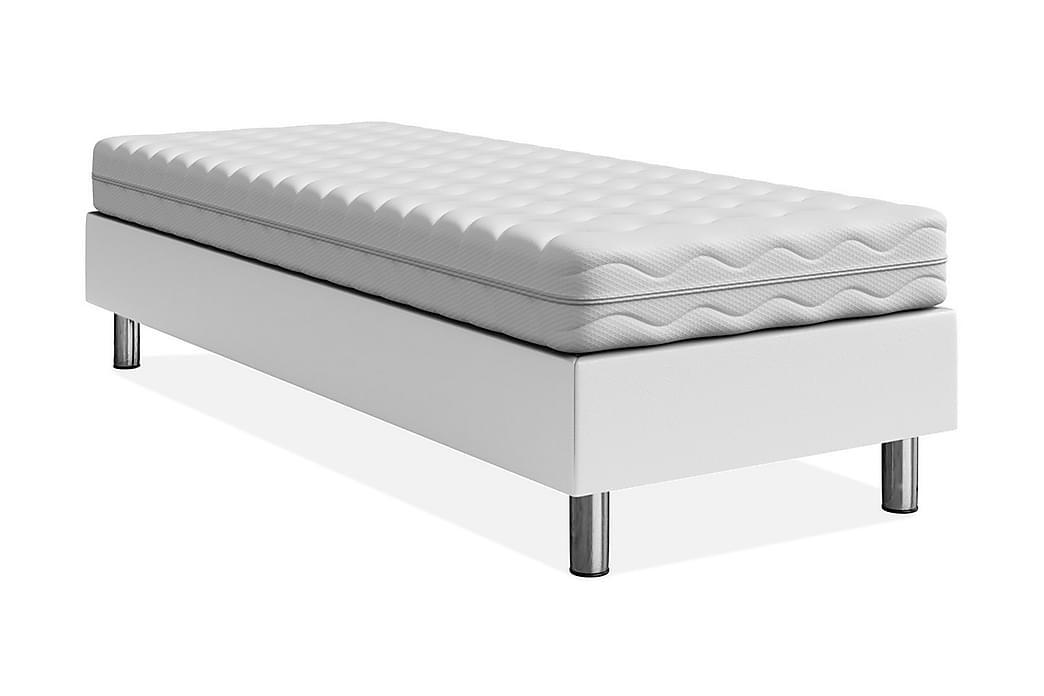 Adeliza Sengeramme 120x200 cm - Hvit - Møbler - Senger - Sengeramme & sengestamme