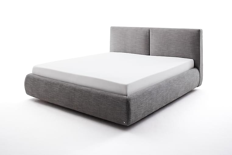 Atesio Sengeramme med Oppbevaring 180x200 cm - Antrasitt - Møbler - Senger - Sengeramme & sengestamme