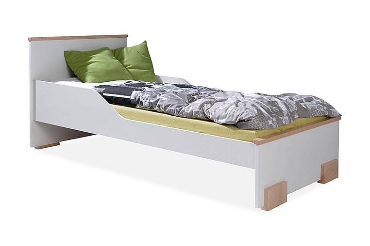 Caren Seng 89x209 cm - Hvit - Møbler - Senger - Sengeramme & sengestamme
