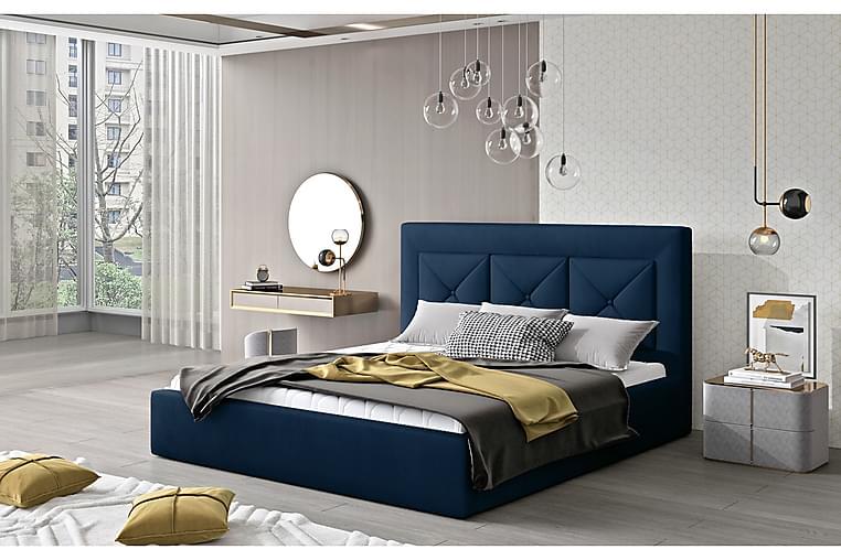 Ecloe Sengeramme 180x200 cm - Blå - Møbler - Senger - Sengeramme & sengestamme