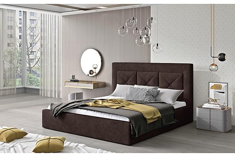 Ecloe Sengeramme 180x200 cm - Brun - Møbler - Senger - Sengeramme & sengestamme
