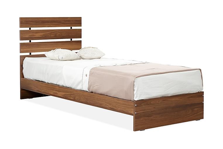 Feldene Sengeramme 120x200 cm - Valnøtt - Møbler - Senger - Sengeramme & sengestamme