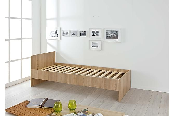 Naji Sengeramme 90x200 - Natur - Møbler - Senger - Sengeramme & sengestamme