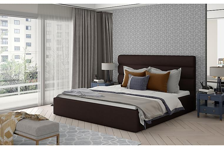 Ocaramele Sengeramme 140x200 cm - Brun - Møbler - Senger - Sengeramme & sengestamme