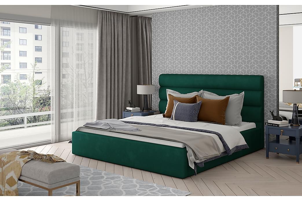 Ocaramele Sengeramme 140x200 cm - Grønn - Møbler - Senger - Sengeramme & sengestamme