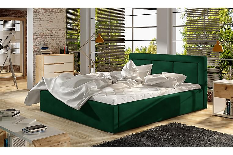 Rogba Sengeramme 200x200 cm - Grønn - Møbler - Senger - Sengeramme & sengestamme