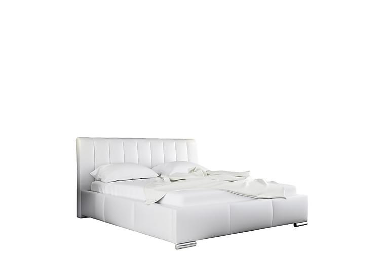 Seida Seng 160x200 - Hvit - Møbler - Senger - Sengeramme & sengestamme