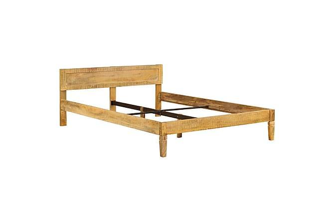 Sengeramme heltre mango 140 cm - Møbler - Senger - Sengeramme & sengestamme
