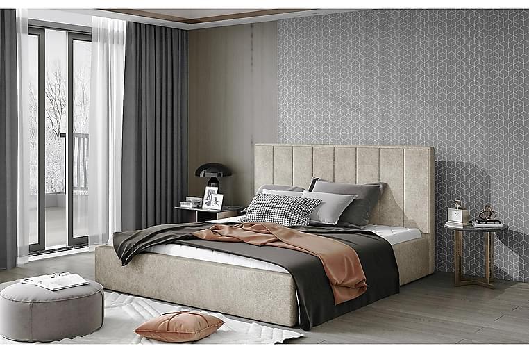 Sibculo Sengeramme 160x200 cm - Beige - Møbler - Senger - Sengeramme & sengestamme