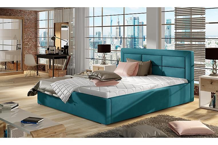 Torreforta Sengeramme 140x200 cm - Blå - Møbler - Senger - Sengeramme & sengestamme