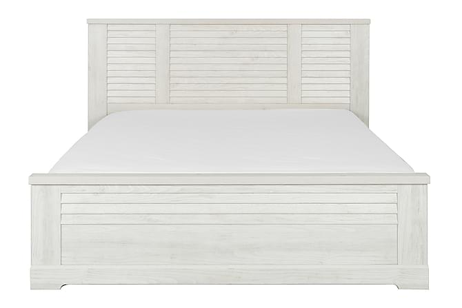 Trisha Sengeramme 180x200 - Hvit - Møbler - Senger - Sengeramme & sengestamme