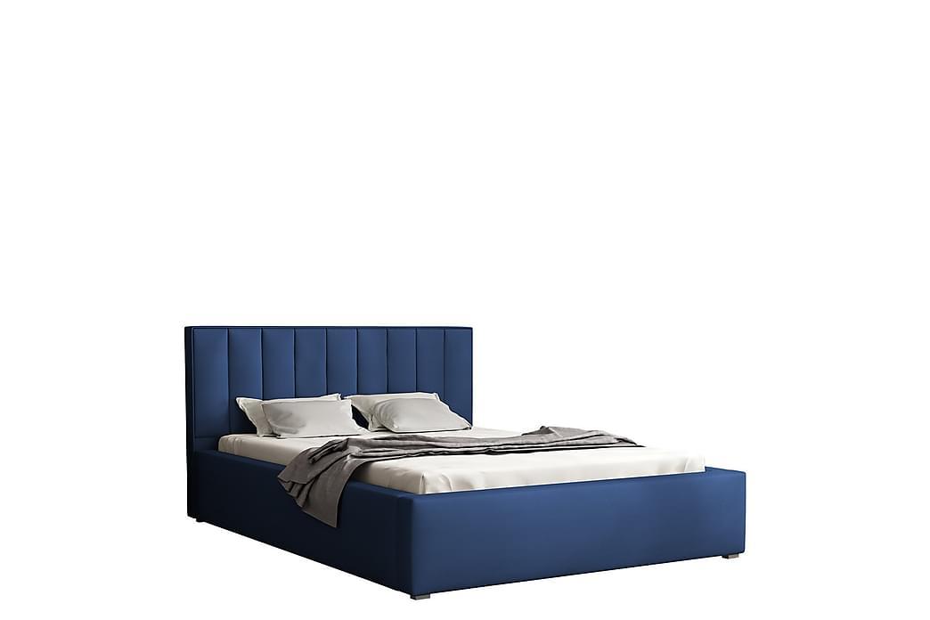 Valasco Seng 120x200 cm - Blå - Møbler - Senger - Sengeramme & sengestamme