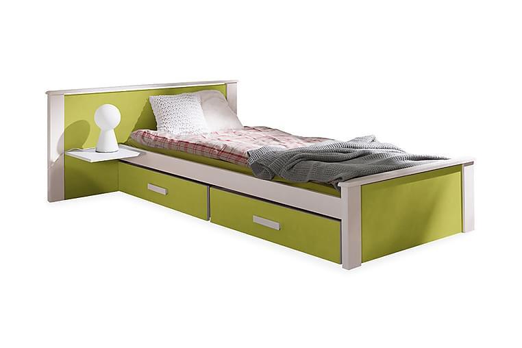 Velho Enkelseng 90x200 cm - Grønn - Møbler - Senger - Sengeramme & sengestamme