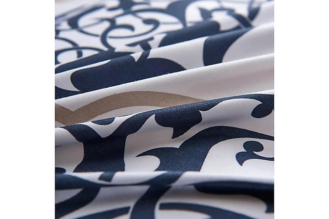 Thaisa Sengesett 3-deler 240x220/60x70 cm Klassisk - Marineblå - Møbler - Senger - Sengetilbehør