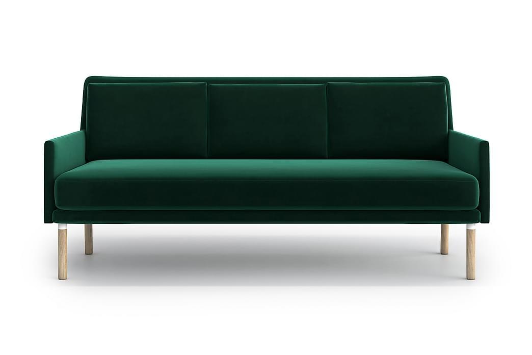 Annike 3-seter Sofa - Grønn - Møbler - Sofaer - 2-4-seters sofaer