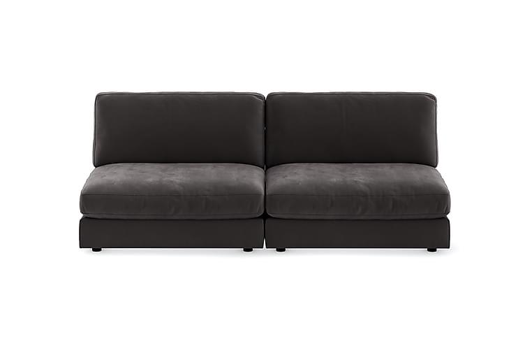 Arken Modulsofa 3-seter Fløyel - Mørkegrå - Møbler - Sofaer - 2-4-seters sofaer