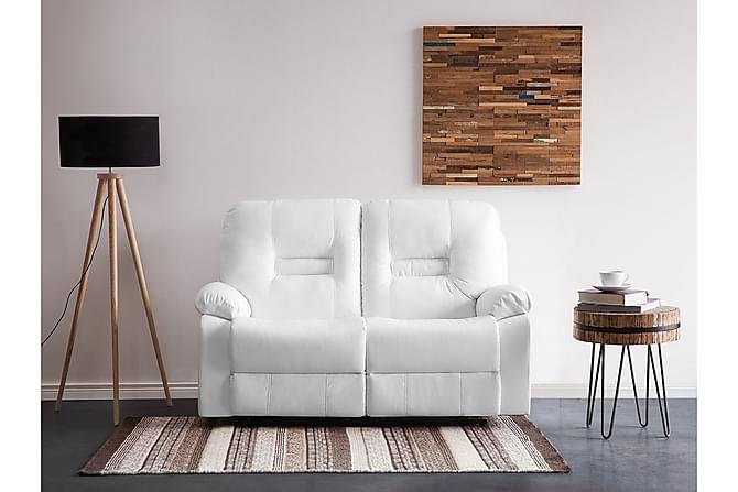 Bergen Sofa 2-seter - Hvit - Møbler - Sofaer - 2-4-seters sofaer